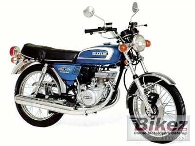 1974 Suzuki Gt 125 Specifications And Pictures