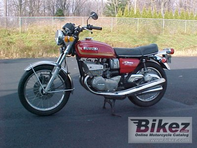 1975 Suzuki GT 380 photo