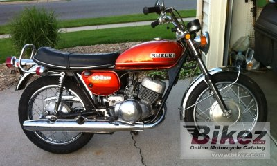 1975 Suzuki TS 250 specifications and pictures