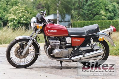 1976 Suzuki GT 550 photo
