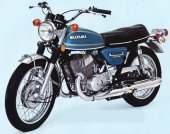 1976 Suzuki GT 500 photo