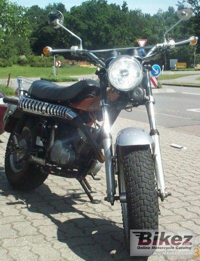 125ccm Suzuki Motorrad