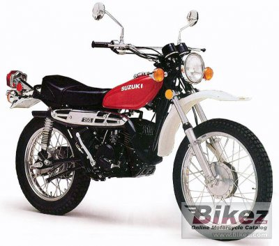Electric Bikes For Sale >> 1976 Suzuki TS 250 specifications and pictures