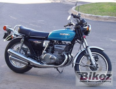 1977 Suzuki GT 550 photo