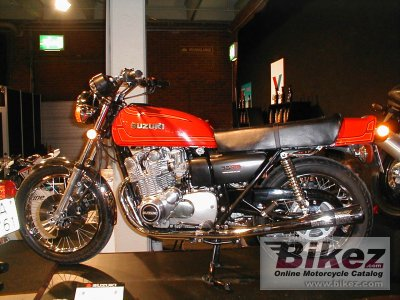 1977 Suzuki GS 750 specifications and pictures