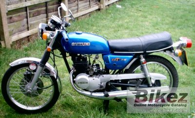 1977 suzuki gt 125 specifications and pictures. Black Bedroom Furniture Sets. Home Design Ideas