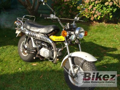1977 Suzuki RV 90 specifications and pictures