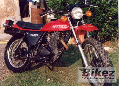 1978 Suzuki SP 370 photo