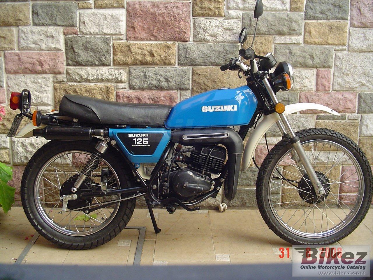 Suzuki TS 125 picture