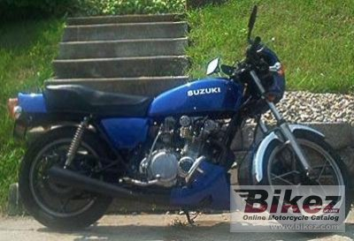 1978 Suzuki GS 550 E specifications and pictures