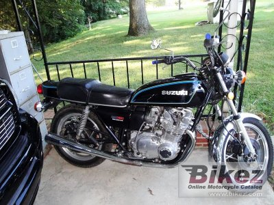 1978 Suzuki GS 750 E specifications and pictures
