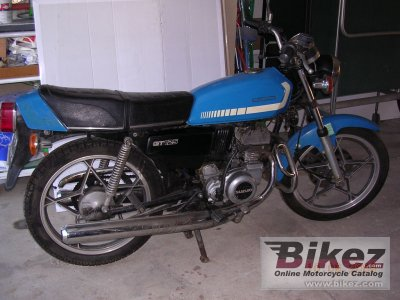 1978 suzuki gt 125 specifications and pictures. Black Bedroom Furniture Sets. Home Design Ideas