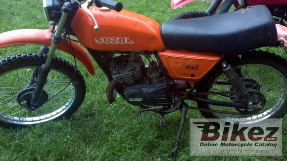 1979 Suzuki DS 125 photo