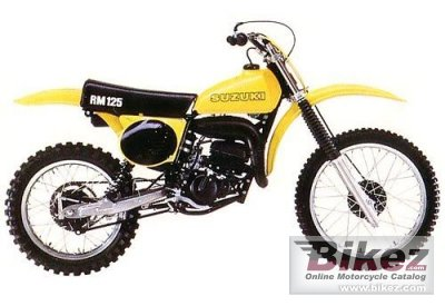 1979 Suzuki RM 125 specifications and pictures