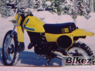 1979 Suzuki RM 80