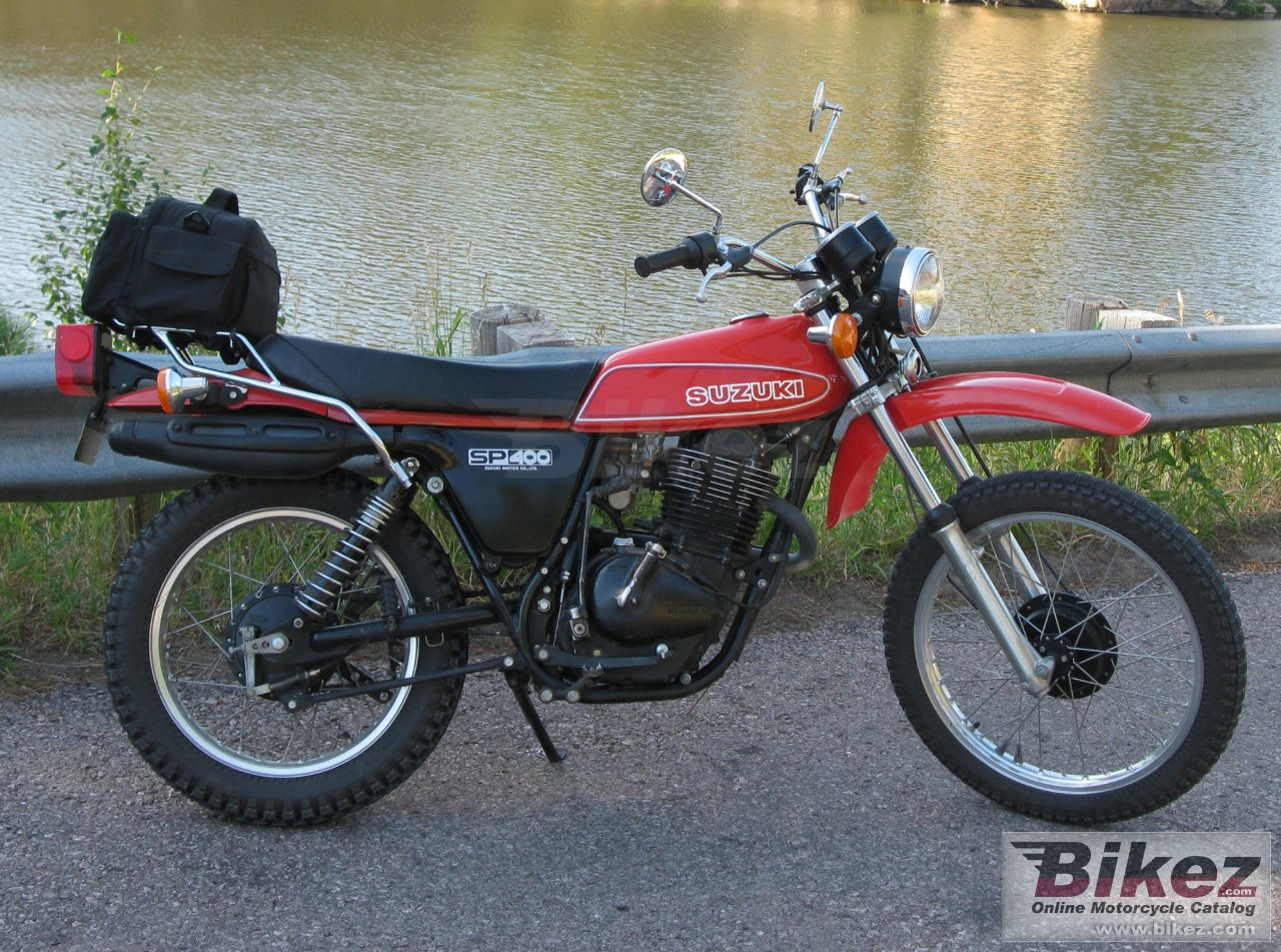 Big  sp400 picture and wallpaper from Bikez.com
