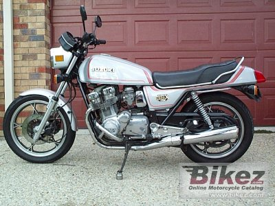 1980 Suzuki GSX 750 specifications and pictures