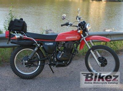 1980 Suzuki SP400