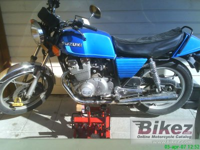 1981 Suzuki GSX 400 E photo