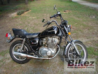 1981 Suzuki GS 450 L specifications and pictures