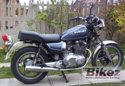 1981 Suzuki GS 450 T specifications and pictures