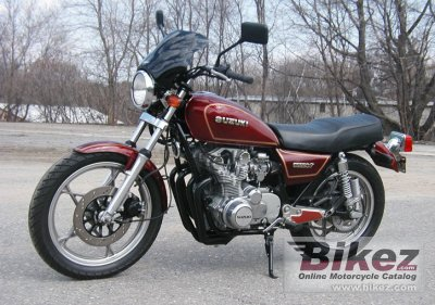 1981 suzuki gs 550 t specifications and pictures