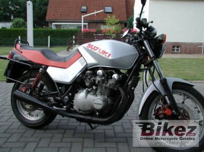 1981 Suzuki GS 650 G Katana specifications and pictures