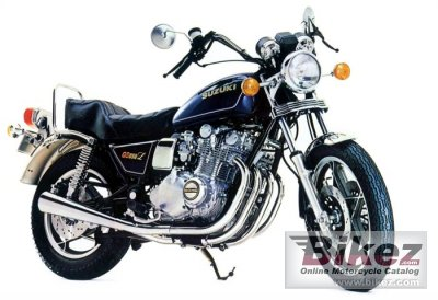 1981 Suzuki GS 850 G specifications and pictures