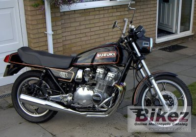 1981 Suzuki Gsx 750 E Specifications And Pictures