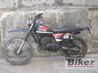 1981 suzuki ts 125 er specifications and pictures. Black Bedroom Furniture Sets. Home Design Ideas