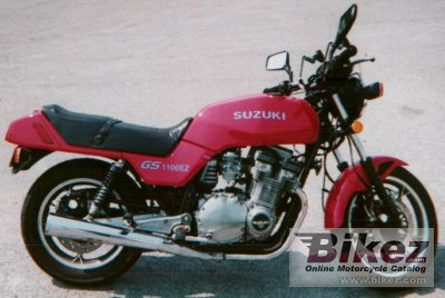 1982 Suzuki GSX 1100 ES photo