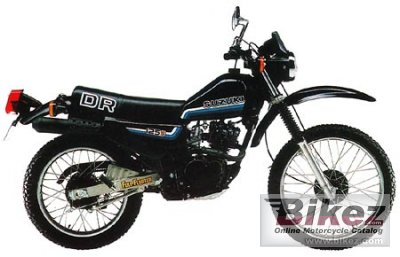 1982 suzuki dr 125 s specifications and pictures, Wiring diagram