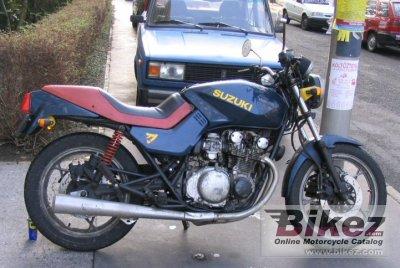 Gs M Katana on 1982 Suzuki Gs550e