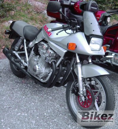 1982 Suzuki GSX 1100 S Katana specifications and pictures