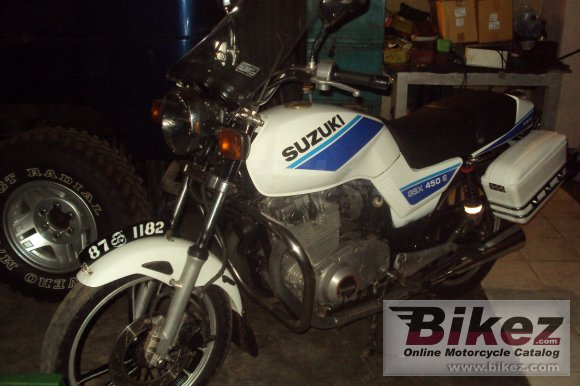 1984 Suzuki GS450 photo