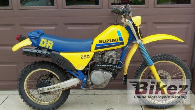 1984 Suzuki Dr 250 S Specifications And Pictures