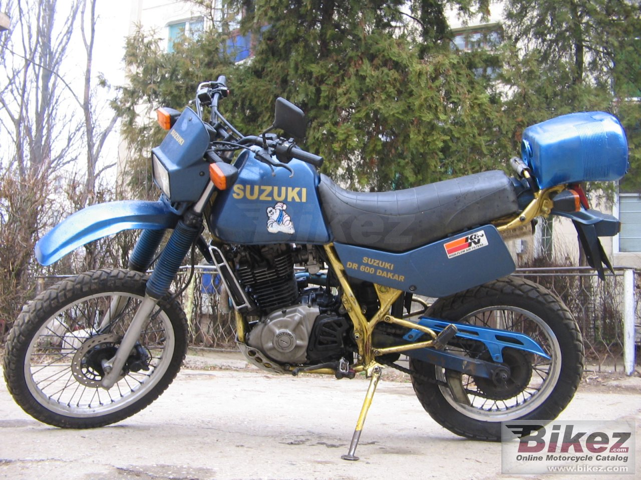 Big  dr 600 s picture and wallpaper from Bikez.com