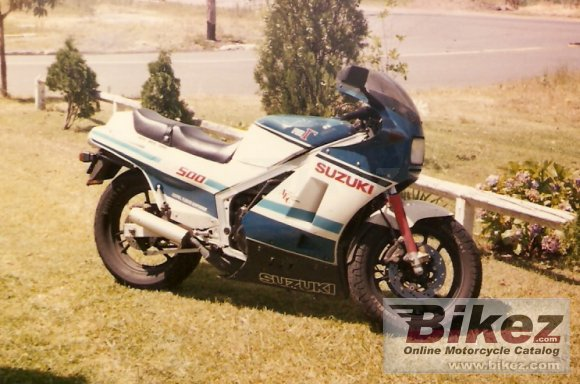 1985 Suzuki RG 500 Gamma photo