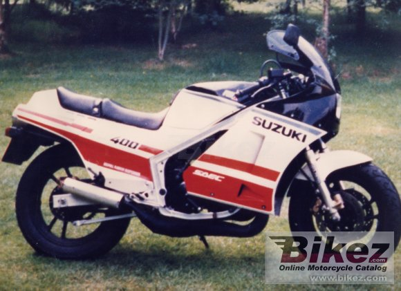 1985 Suzuki RG 400 Gamma photo