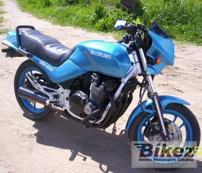1985 Suzuki GSX 550 ES specifications and pictures
