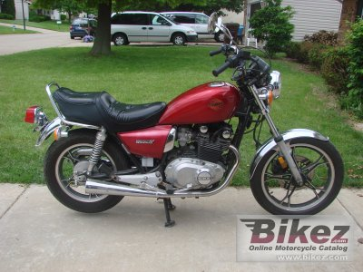 1986 Suzuki GS 450 L photo