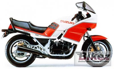 1986 Suzuki GSX 1100 ES photo