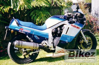 1986 Suzuki GSX-R 1100 photo