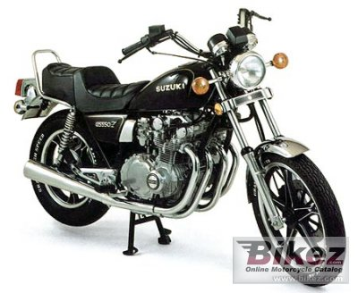 1986 Suzuki GS 550 L photo