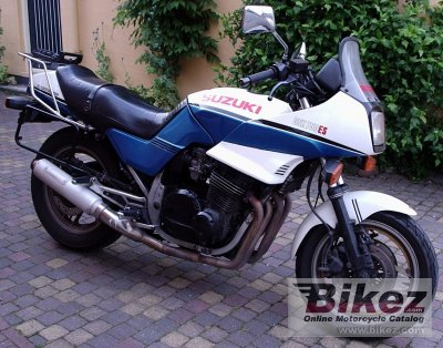 1986 Suzuki GSX 750 ES specifications and pictures