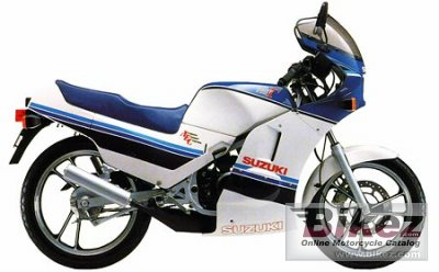 1986 Suzuki RG125 Gamma specifications and pictures