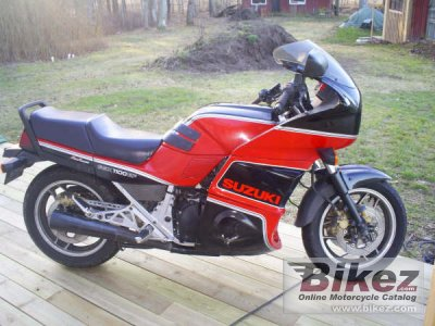1987 Suzuki GSX 1100 EF (reduced effect) photo
