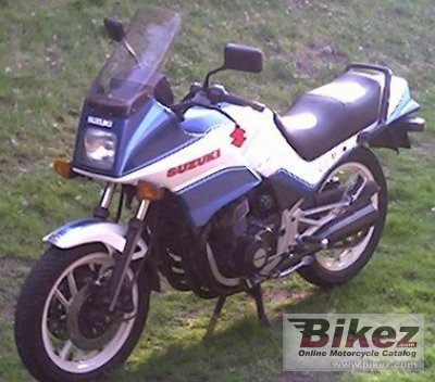 1987 Suzuki GSX 550 ES photo