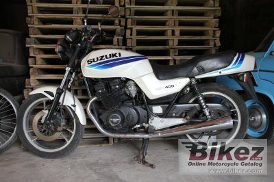 1987 Suzuki GSX 400 S photo