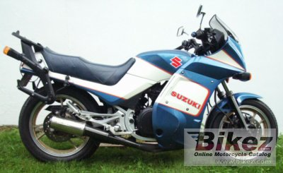 1987 Suzuki Gsx 550 Ef Specifications And Pictures